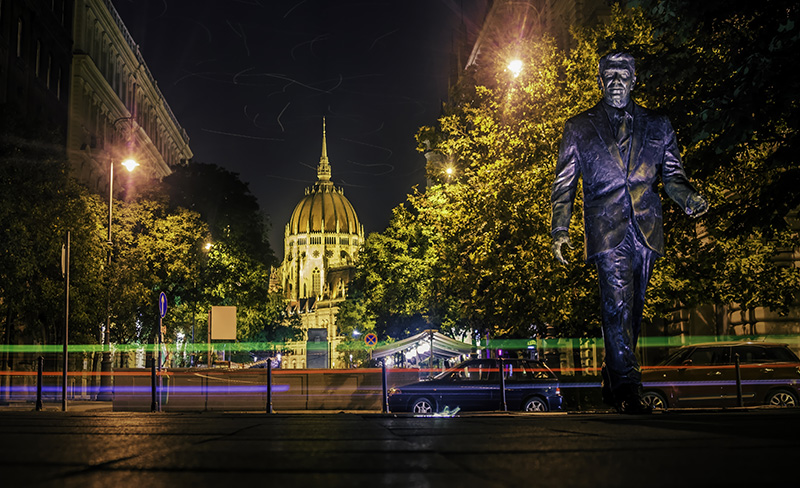President Ronald Reagan statue in Washinton, D.C.